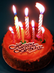 birthday cake (mini)