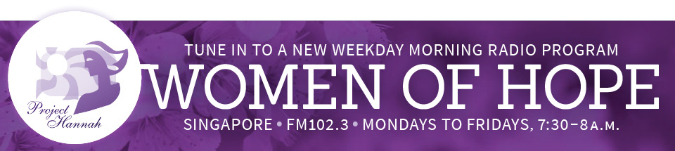 In Singapore? Tune in to a new radio program!