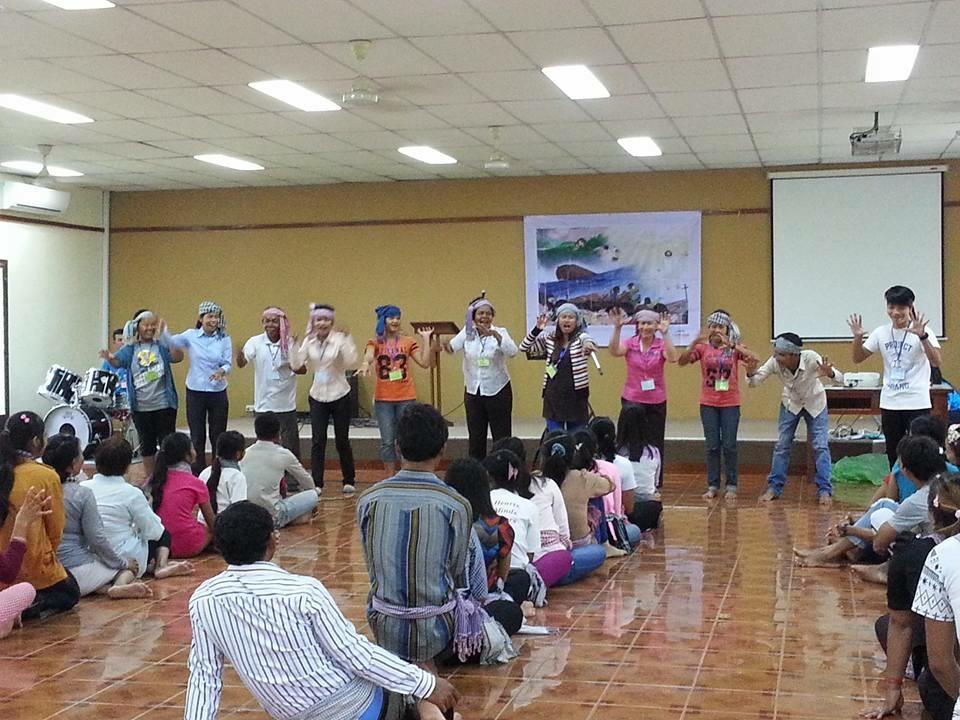 Cambodia training 2015