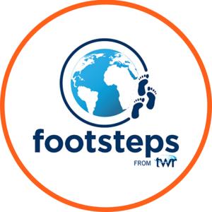 footsteps lgo