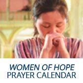 Women of Hope prayer calendar