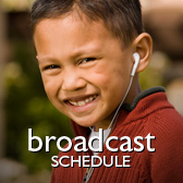 audio samples and broadcast schedule